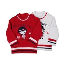 女童婴幼儿童装 新款春秋装暖秋婴童毛织衫